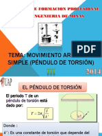 Fisica II Pendulo de Torsion