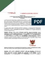 COMUNICADO_PRENSA cardenales del éxito