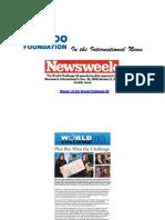 Hashoo Foundation's Plan Bee in Newsweek Magazine - World Challenge 08 Winner
