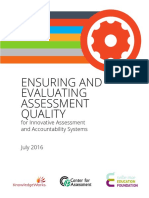 Ensuring Evaluating Innovative Assessments