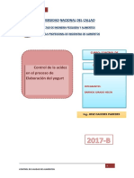 CONTROL DE LA ACIDEZ ENE EL PROCESO DE ELA BORACION DEL YOGURT.docx