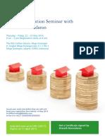 Aswath Dasmodaran Seminar Business Valuation