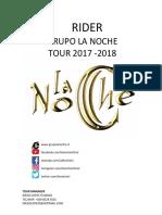 Rider La Noche 2017
