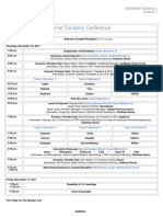 Goldman Sachs 7th Annual Private Internet Company Conference agenda