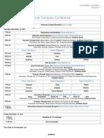 Goldman Sachs 7th Annual Private Internet Company Conference agenda