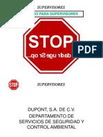 Stop Para Supervisores