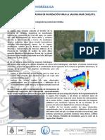 Definicion de La Cota Maxima de Inundacion Para La Laguna Mar Chiquita UNC