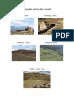 5 Ruinas Arqueológicas de Ecuador