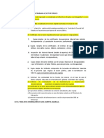 Requisitos Para Ingresar a Trabajar Al Sector Público Actualizado .Doc