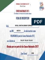 CONSTANCIA DE PARTICIPACION