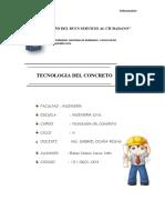 Formulario de Tecnología Del Concreto
