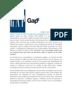 Investigacion de mercados Gap