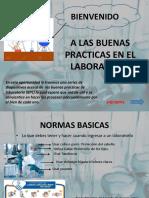 A Las Buenas Practicas en El Laboratorio