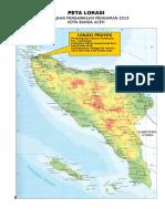 Peta Banda Aceh
