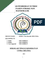 MAKALAH FORCE FEEDING PADA STROKE NON HAEMORAGIK.docx