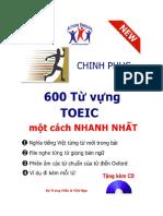 CHINH PHỤC 600 TỪ VỰNG TOEIC MỘT CÁCH NHANH NHẤT .pdf