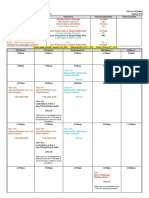 Spring 2018 - Pharmacy Elective Class Schedule