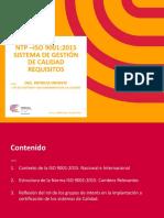 Ponencia Iso 9001 2015 Patricia Infante v3