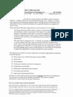 Sample Hr Audit Checklist