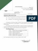 Action on Budget Announcement (Reconstruction of Asset Register)