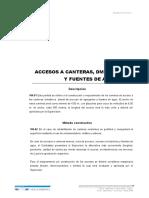 104 Accesos a canteras,DME,plantas y fuentes de agua.doc