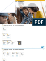 Learning Journey SAP HANA Development
