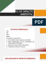1. Estudio de Impacto Ambiental