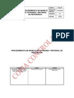 P-sa-87 Manejo de Patrones y Material de Referencia v1