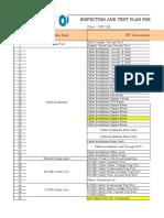 ITP Monitoring Status Electrical