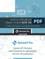 Service Virtualization Made Simple With ServiceV
