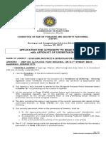 CBFSP Form No. 2015-01 (Agency)