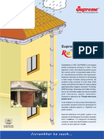 Roof Gutter System