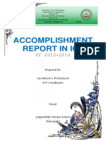 Accomp Report in Ict2014