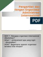 Administrasi Publik Pengertian Dan Penggolongan Organisasi Administrasi Internasional