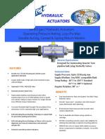 WACT Hydraulic Actuator