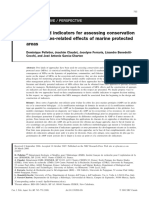 Model and Indicator for Assessing Conservation