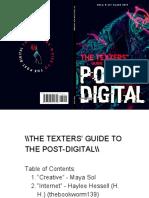ELit Post-Digital Book - Texters