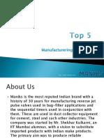 Top 5 Valve Manufacturering Companies