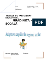 Parteneriat Scoala 2017-2018
