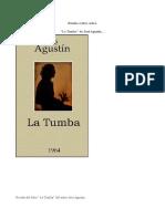 Reseña. José Agustín. La Tumba