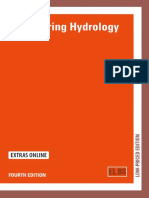 Engineering Hydrology 4E by Wilson