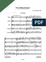 IMSLP251756 PMLP408030 Patterson FiveMedievalDances Strings Score