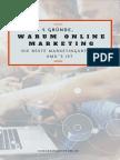 5 Gründe, warum Online Marketing die beste Marketingart für KMU´s ist