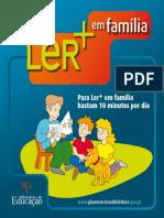 Ler + em familia-brochura