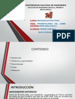 Exposicion de La Pirometalurgia Del Cu