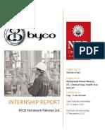 Byco Internship Usman NED CH Batch 14-15
