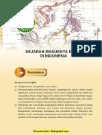 Bab 2 Sejarah Masuknya Islam Di Indonesia