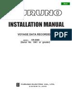VR5000 Installation Manual - Furuno USA
