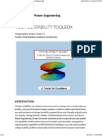 Voltage Stability Toolbox _ Center for Electric Power Engineering