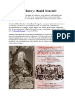 Bernoullis Equation History of Scientist